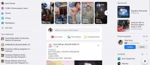 cara mengunci profil fb